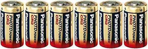 Panasonic CR2Ultra Lithium-Batterie 3V dl-cr2, 6Stück