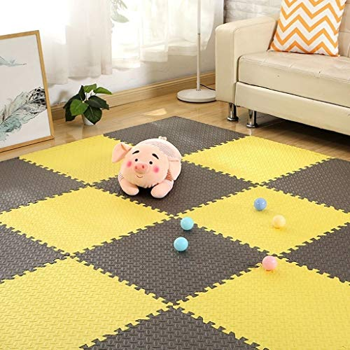 Sale!! Childrens Rug Jigsaw Playmats Kids Care Play Mat (Color : H, Size : 8 Piece)