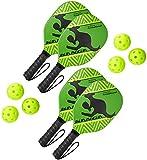 Kanga Beginner Pickleball Paddle Bundle   Set Includes 4 Pickleball Paddles/6...
