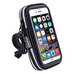 Waterproof Touch Screen Bike Mount GPS Case Bicycle Handlebar Cell Phone Holder Bag For iPhone 11 Pro Max / Motorola One Zoom / Moto E6 Plus / Google Pixel 4 XL / Xiaomi Redmi Note 8 / Xiaomi Mi 9T
