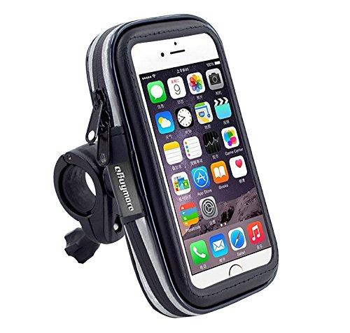 eBuymore TM Bike Mount Rugged Waterproof GPS Phone Case Bicycle Handlebar Holder for iPhone 11 Pro/Samsung Galaxy S20 / Note10 / A10e / Google Pixel 4 / LG Neon Plus/Motorola Moto E6