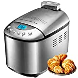Fully Automatic Household Bread Machine Stainless Steel Double Mixing and Dough Maker