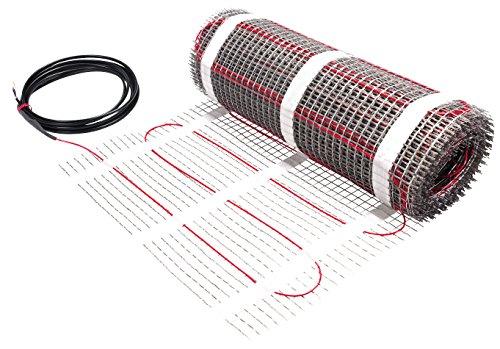 Danfoss 088L0202 ECmat 150T 225W 230V 0.5x3m Elektrische Fußbodenheizung, Siehe Bild, 1,5 m² / 225 W