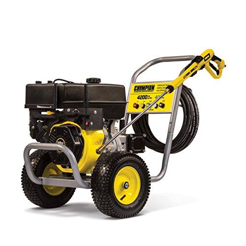 Champion 4200-PSI 4.0-GPM Wheelbarrow-Style Gas Pressure...
