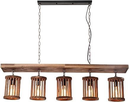 Amazon.es: lamparas techo rusticas de cocina - 100 - 200 EUR ...