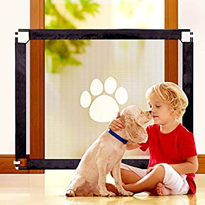 Amazon - Save 70%: Baby Gates Mesh Dog Gate – Farochy Safety Mesh Gate for Babies and Pets, Safet…