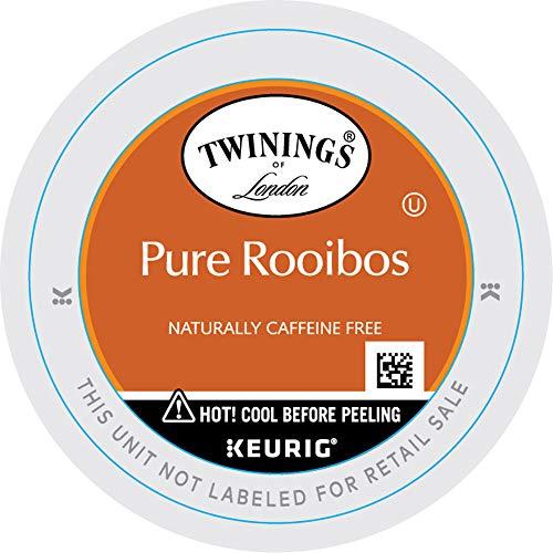 Twinings of London Rooibos Red Tea K-Cups for Keurig, 24 Count (Pack of 2)