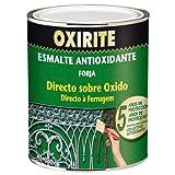 Xylazel oxirite - Esmalte metal forja 750ml verde