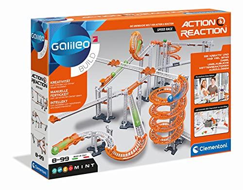 Clementoni- Galileo Action & Reaction-Speed-Race, 59235