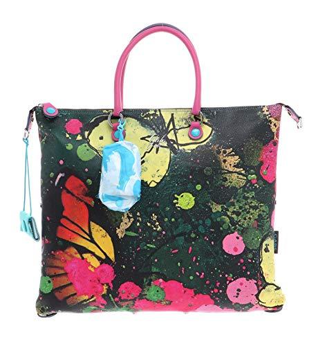 GABS G3 Plus Convertible Flat Shopping Bag L Spring Butterflies