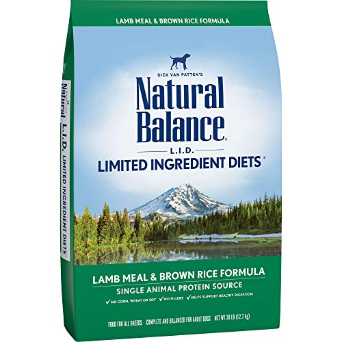 Natural Balance with Grains Limited Ingredients LID Dry Dog Food Diet