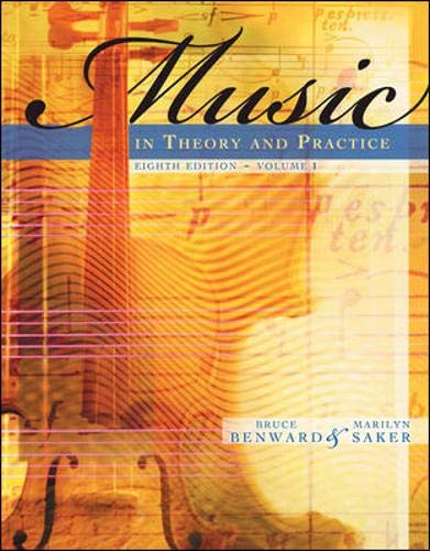 Price comparison product image Music in Theory and Practice,  Volume 1 (v. 1)