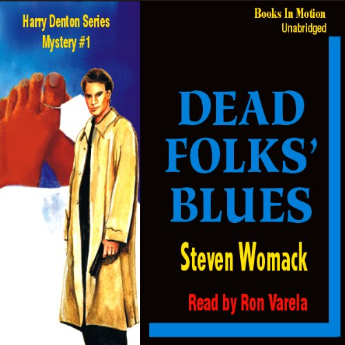 Dead Folks Blues audiobook cover art