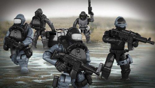 Megabloks CNF10 Mega Construx Call of Duty Seal Team Mega Brands America
