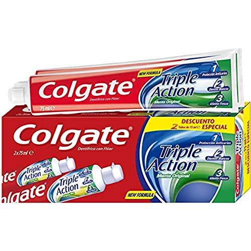 Colgate Triple Action Dentífrico - 2 X 75 ml