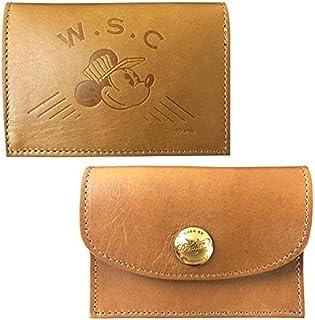 Workson WSCレザーカードケース H80mm×W110mm×D20mm ブラウン