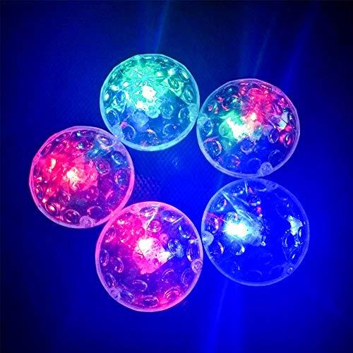 LED Bain De Bébé Lumière Diamant En Forme D'ampoule Ampoule Flottante Imperméable Avec Instruction Coffre-fort Pour Bébé Garçons Et Filles Tout-petit Jouets Enfants Jouets De L'eau Piscine Fun - 2Pack