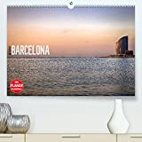 Metropole Barcelona (Premium, hochwertiger DIN A2 Wandkalender 2022, Kunstdruck in Hochglanz): Barcelona - Metropole am Mittelmeer (Geburtstagskalender, 14 Seiten )