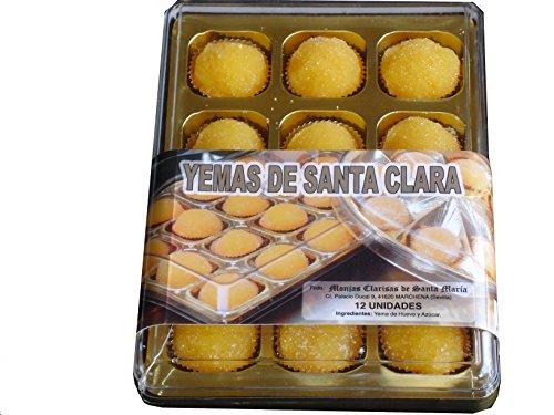 YEMAS DE SANTA CLARA. 12 un. CONVENTO DE LAS MONJAS CLARISAS DE SANTA MARIA (MARCHENA, SEVILLA)