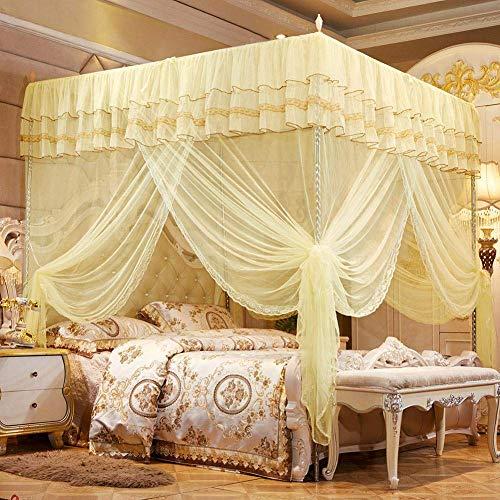 Sängdraperi Polyestermaterialdekoration för damrum för kvinnor (120200200)