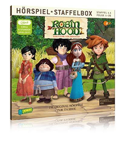 Robin Hood - Schlitzohr von Sherwood - Staffelbox 1.1 Folge 1 - 26 (mp3-CD)