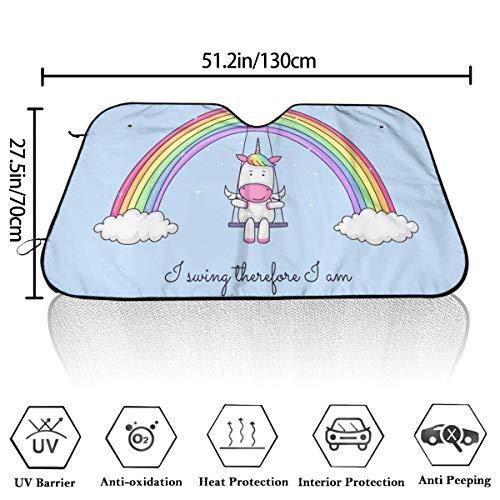 MOLLUDY Parasol de Parabrisas Delantero,Parasol Protector So