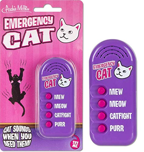 Archie McPhee Emergency Cat Electronic Noisemaker