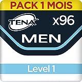 Tena Men Niveau 1 Protections pour Fuites Urinaires / Incontinence (Pack 1 mois de 96 Protections)