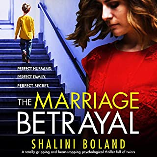 The Marriage Betrayal: A totally gripping and heart-stopping psychological thriller full of twists cover art