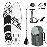 FBSPORT Tabla Sup Hinchable, Tabla de Surf Hinchable, Tabla Inflable de Paddle Surf, Sup...