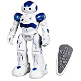Toch RC Robot Toy, Programmable Smart Infrared Sensing Robot for Kids Birthday Gift Present, Blue