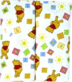 Disney Winnie The Pooh Receiving Blankets. Two Pack of Varied Prints and Styles. Boy 30' x 30' … (Varied Style)