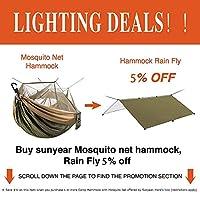 Hammock Rain Fly Tent Tarp Provides Effective Protection Against Rain, Snow. 32ft Long Ridgeline. Big 9.8x9.5ft Durable…
