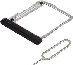MMOBIEL SIM Card Tray Slot Compatible with LG Google Nexus 5 (4.95 Inch) incl Sim pin (Black)