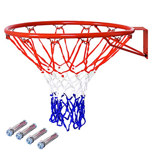 Standard Basketball Net Nylon Hoop Goal Standard Rim For basketball sta YW