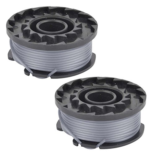 Spares2go - Bobina de alimentación para cortacésped Bosch Art 23 SL, Art 26 SL (2 unidades)