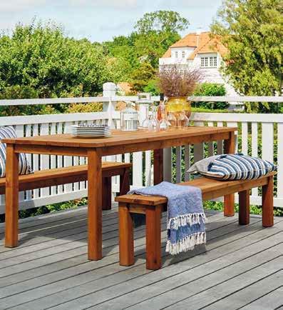 Italfrom Mesa de picnic de madera de pino