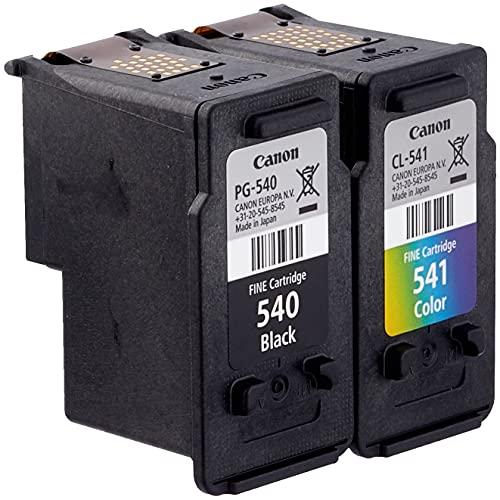Canon PG-540/CL-541 Cartuccia Originale Getto d'Inchiostro, 2 Pezzi, Nero/Colore