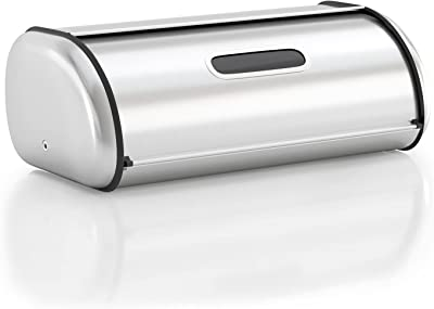 Anlisnut Stainless Steel Bread Box for Kitchen Countertop - Best kitchen appliances for college students
