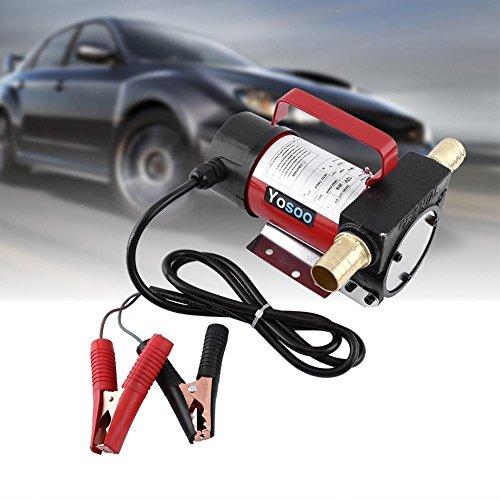 12V DC elektrische Pumpe Notebook-Übertragung von diesel Kerosin für Fahrzeug LKW 40L/min