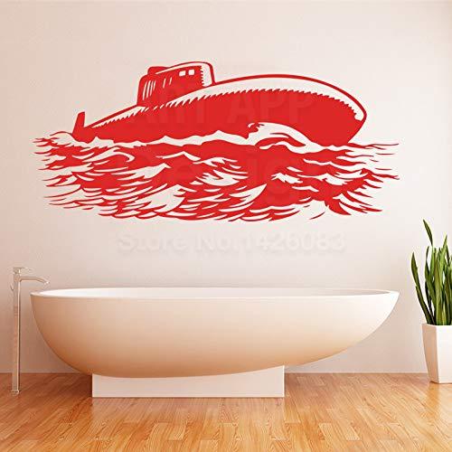 Geiqianjiumai kunst creatief design decoratie goedkoop onderboot zee muursticker