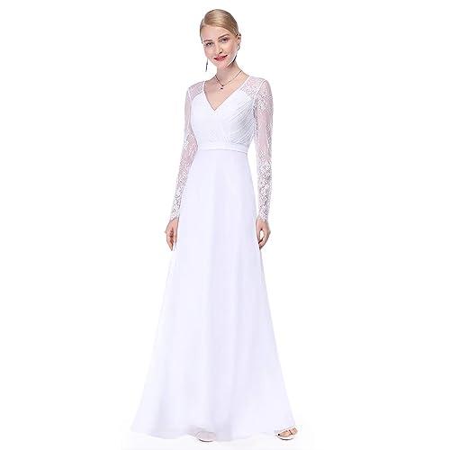Empire Waist Wedding Dress Amazon Com