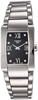Tissot Wrist Watch Womens Quartz Casual Watch, Analog and Stainless Steel - T0073091105600