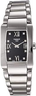 Tissot T0073091105600 Women's T0073091105600 T-Trend Generosi-T Black Dial Stainless Steel Watch