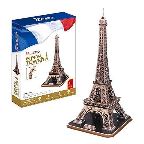 Puzzle 3D CubicFun - La Tour Eiffel