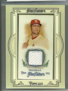 2013 Allen & Ginter's Baseball Matt Holliday Jersey Card