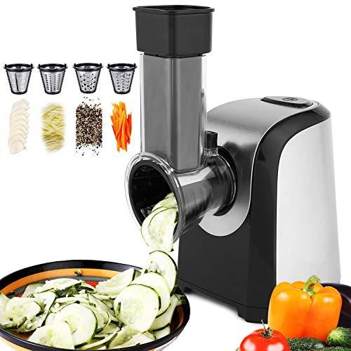 Hauture Professional Salad Maker Electric Slicer ShredderChopper