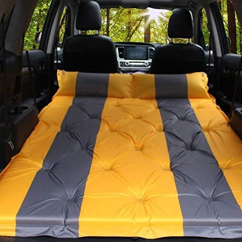 Coprisedili Allinclusive per auto Gonfiabile automatico SUV auto gonfiabile da viaggio Outdoor Car Air materasso Fonti automobile da viaggio Bed (Color : Orange)