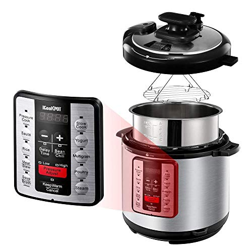 ICOOKPOT Electric Pressure Cooker