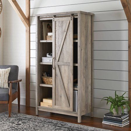 Better Homes & Gardens Farmhouse Storage Cabinet   Amazon